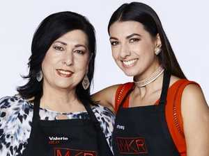 My Kitchen Rules contestants Valerie and Courtney.