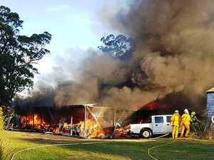 Specialist police to examine house fire scene