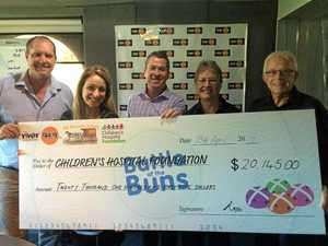 Battle of the buns delivers for children of Lady Cilento
