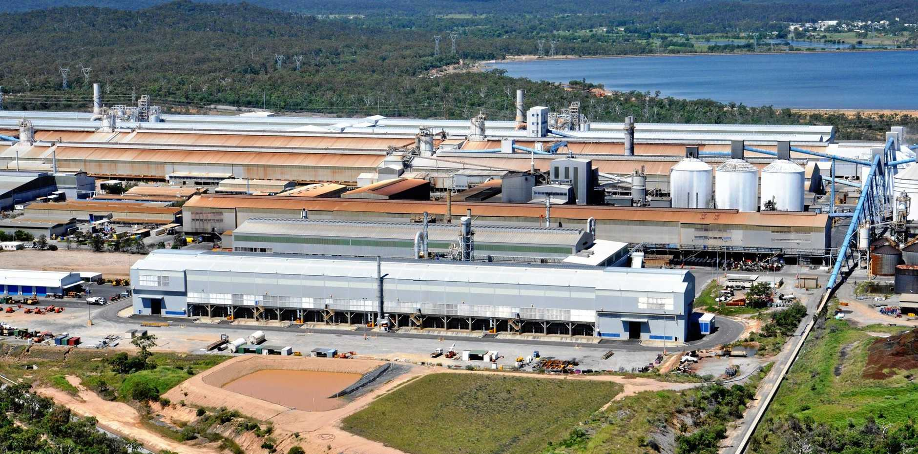 The Rio Tinto-owned Boyne Smelter Limited.