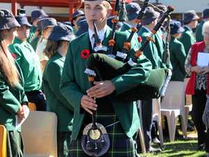 Assumption College Anzac ceremony