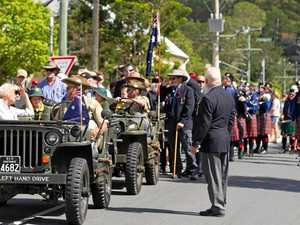 Dusty and Jesse honoured at Yandina Eumundi Anzac parade