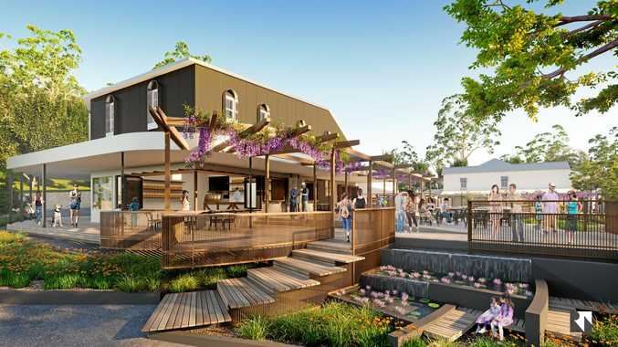 Artist impression of Our Village Eumundi redevelopment stage one, supplied April 2017.