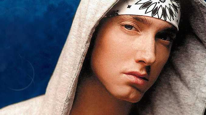 Jay William Blackford, 34, of West Mackay, told police he was Eminem (pictured), also known as Slim Shady.