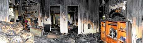 Albert Street, Rosewood. House fire.