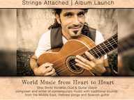 Shai Shriki (Israel) Byron based Vocalist, Oud & Guitar player new album launch. Australia tour starts in Byron Bay 6th of May...
