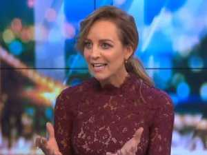 Carrie Bickmore caught out before the cameras rolled