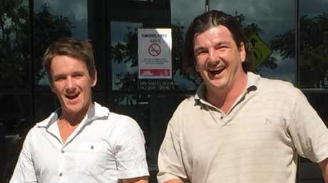 Bodie and Kai Lajunen leave Southport Magistrates Court