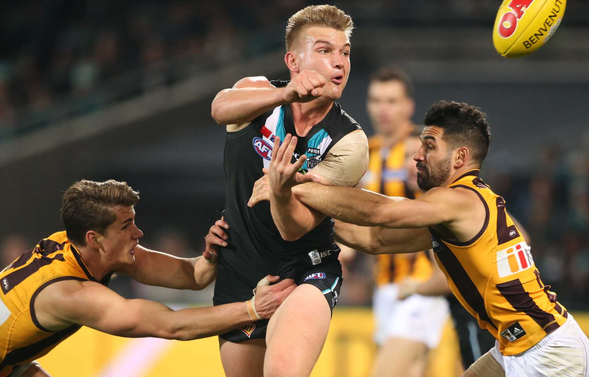 Ollie Wines is among the leading contenders for this year's Brownlow Medal.
