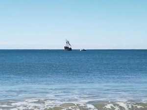 Pirate ship on Sunshine Coast