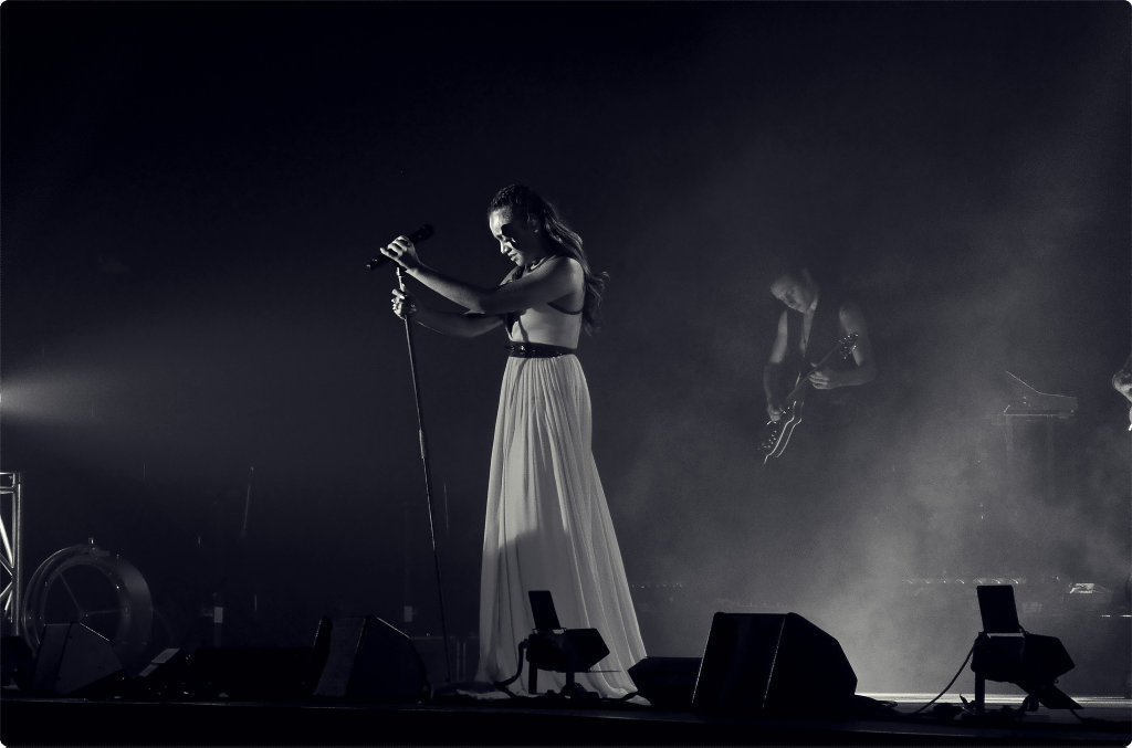 Photo of Jessica Mauboy.