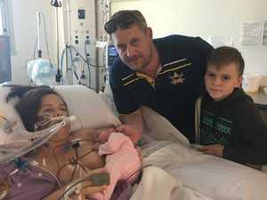Lifesaving operation at Base Hospital