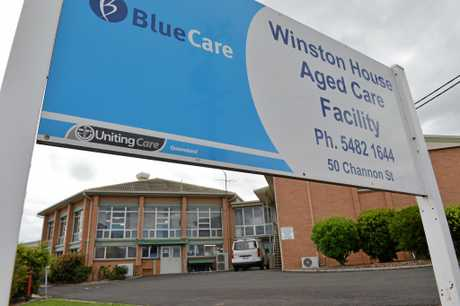Winston House Aged Care Facility in Gympie is closing down. Photo Craig Warhurst /  The Gympie Times