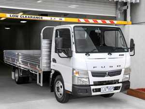 How low can you go? Fuso's specialist low profile truck