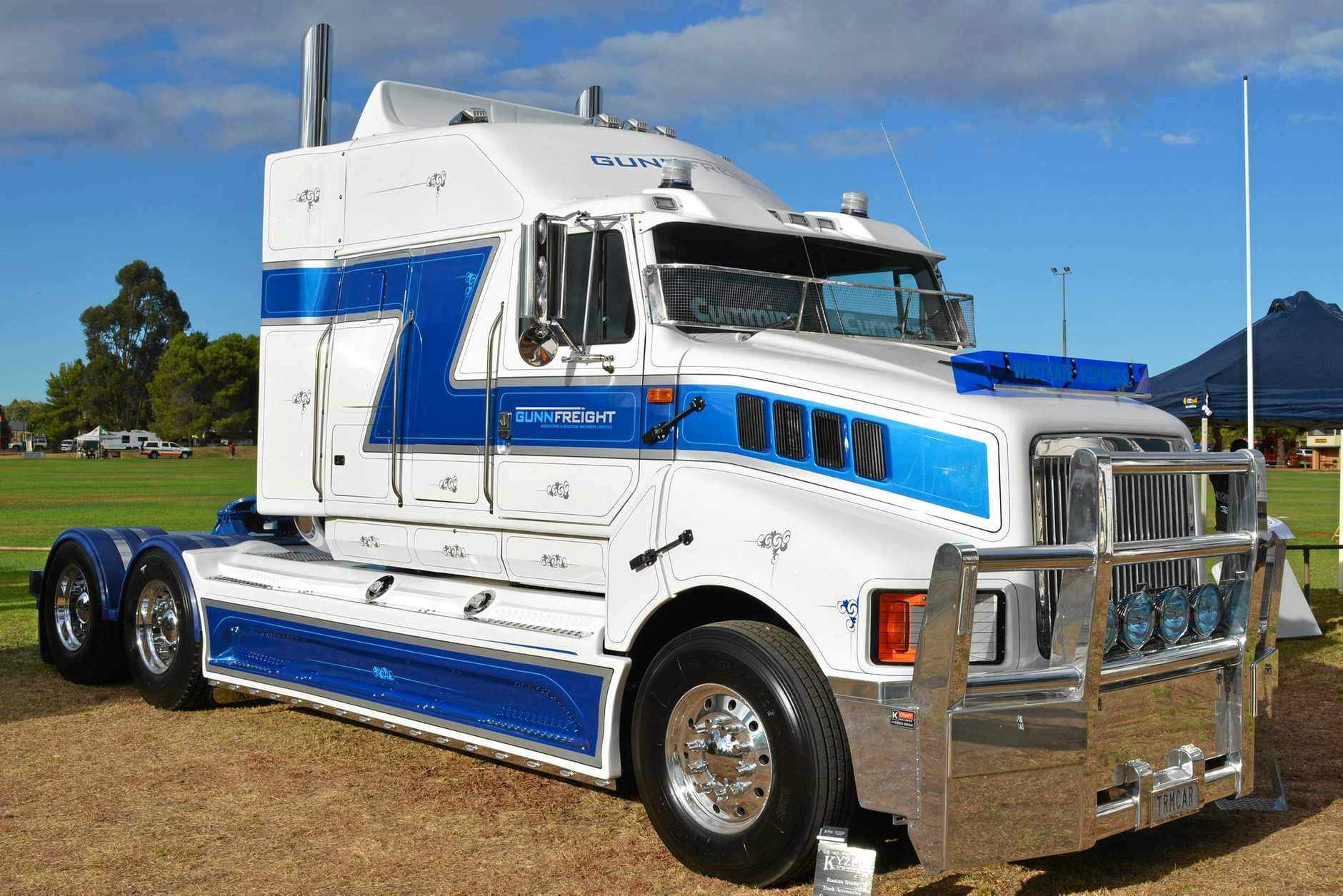 Gunnfreight's International Transtar took out the Best Truck 10-29 Years Category.