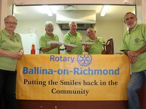 Inundation of rotarians for district conference