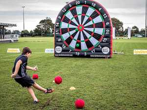 Kicking goals at Cooroy Fusion Festival