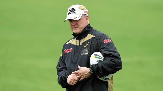 Penrith Panthers coach Anthony Griffin.