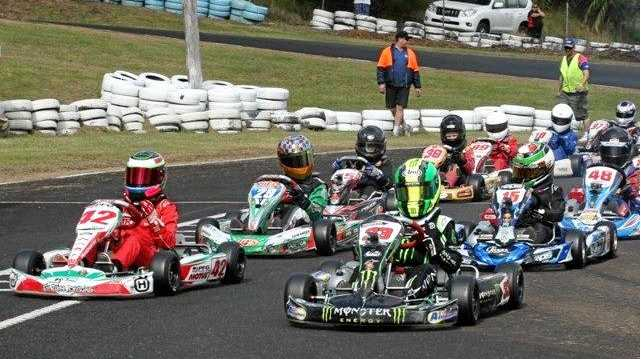 RIGHT: There will be plenty of high-octane action at the Lismore Kart Club facility at North Lismore this weekend with the annual Young Guns meet.