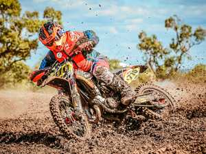 RIDE ON: Roma rider Cooper Jukes is in the top five for his class  and will be competing at the weekend in the Airoh series.