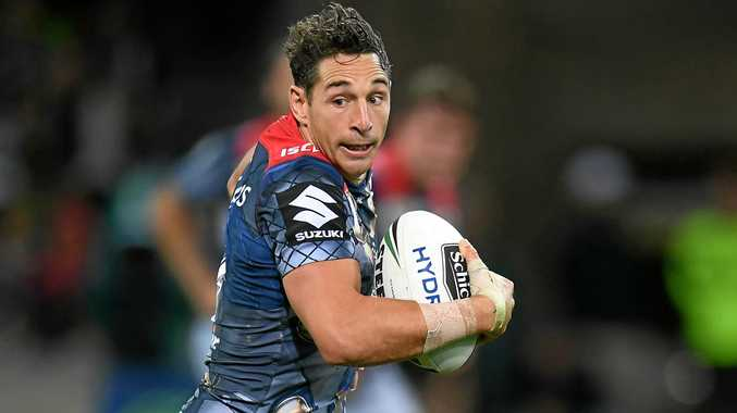 Billy Slater of the Melbourne Storm.