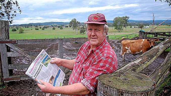 Mary Valley dairy farmer John Cameron continues the war of words via Letters to the Editor with vegans around Australia.