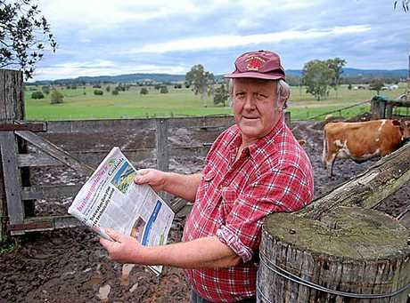 John Cameron is upset the CRDB is promoting the Traveston Crossing Dam with the State Government advertising campaign.