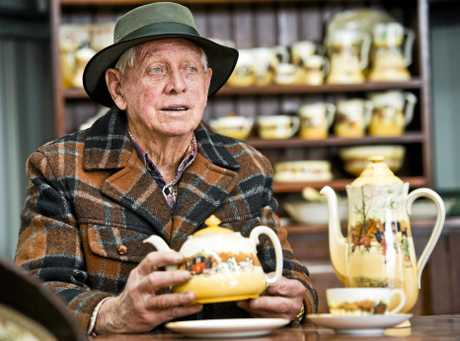 LIFE COLLECTION: Antique collector Ted Arundel will be auctioning off his collection of 70 years on Saturday, May 6.