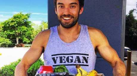 Regan the Vegan has shot to internet fame.