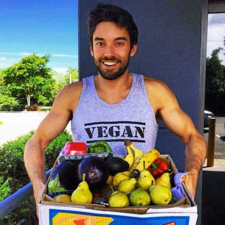 Regan the Vegan has shot to internet fame.