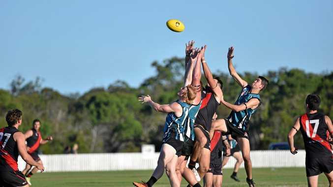 QFA Wide Bay Sunshine Coast: Bay Power v Hervey Bay Bombers at Keith Dunne Oval, Hervey Bay.