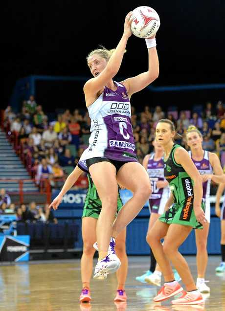 Erin Burger of the Firebirds.