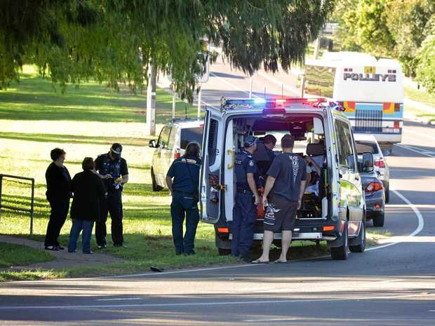 A Gympie student was hit by a car on Cootharaba Rd.