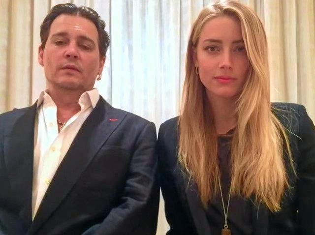 Johnny Depp and Amber Heard apologise for bringing their dogs into Australia.
