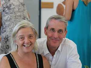 Breast cancer survivor Janice Wheeler with her husband Tim.