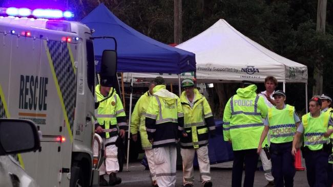 A young girl has been killed on the first day of the school term after being hit by a truck at Rocky Point on the NSW Central Coast on Wednesday afternoon.