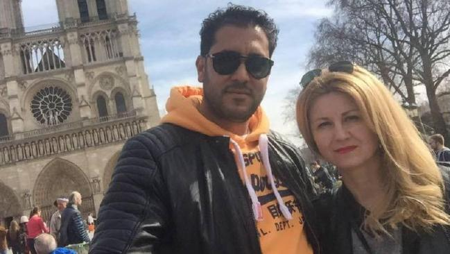 Snjezana Stein, 49, (right) and her young Tunisian-born lover Sami Trabelsi, 37, appeared in Central Local Court on Wednesday charged with importing 4kg of cocaine.