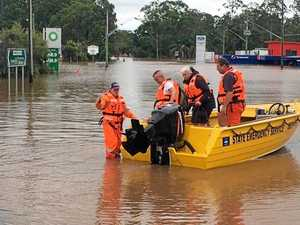 Flood evacuation warnings under review