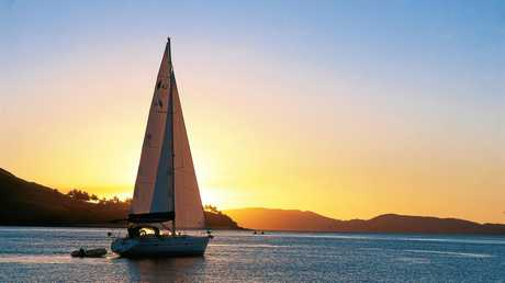 One of the best ways to explore the Whitsundays is on a sailing boat.