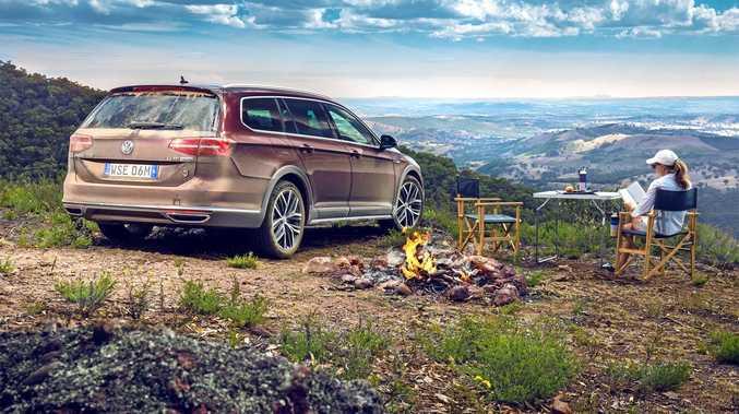 EXTRA KIT: The 2017 VW Passat Alltrack Wolfsburg edition.