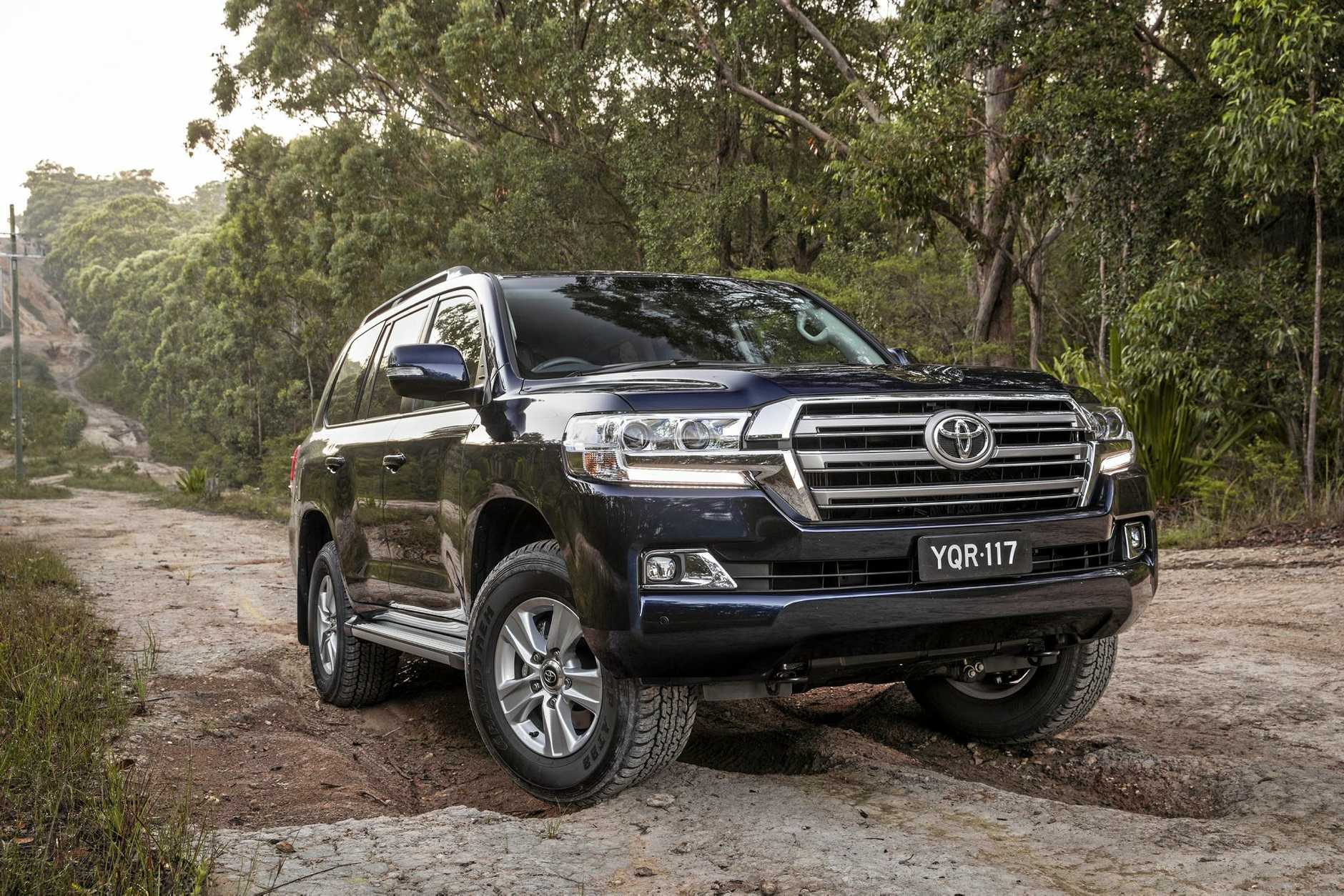 The Toyota LandCruiser Altitude