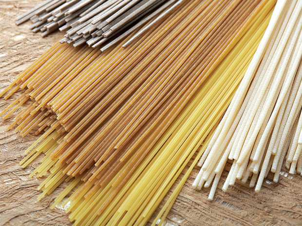 Using salty water to cook pasta is important - one tablespoon of salt per litre of water should do it.