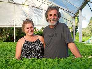 Rob and Narelle Andrews at their Burringbar farm. PHOTO: KATE O'NEILL