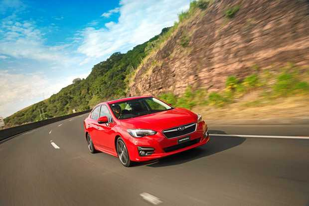 EURO FEEL: When it comes to the 2017 model Subaru Impreza sedan, you get European-like refinement backed by Japanese build quality.