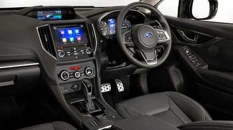 The 2017 model Subaru Impreza sedan.