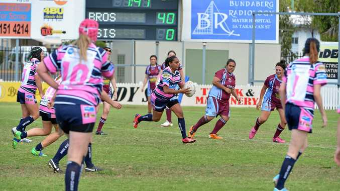 RUN: Past Brothers Christie Chapman will play in the halves for the Bundaberg Rugby League women's 47th Battalion side.