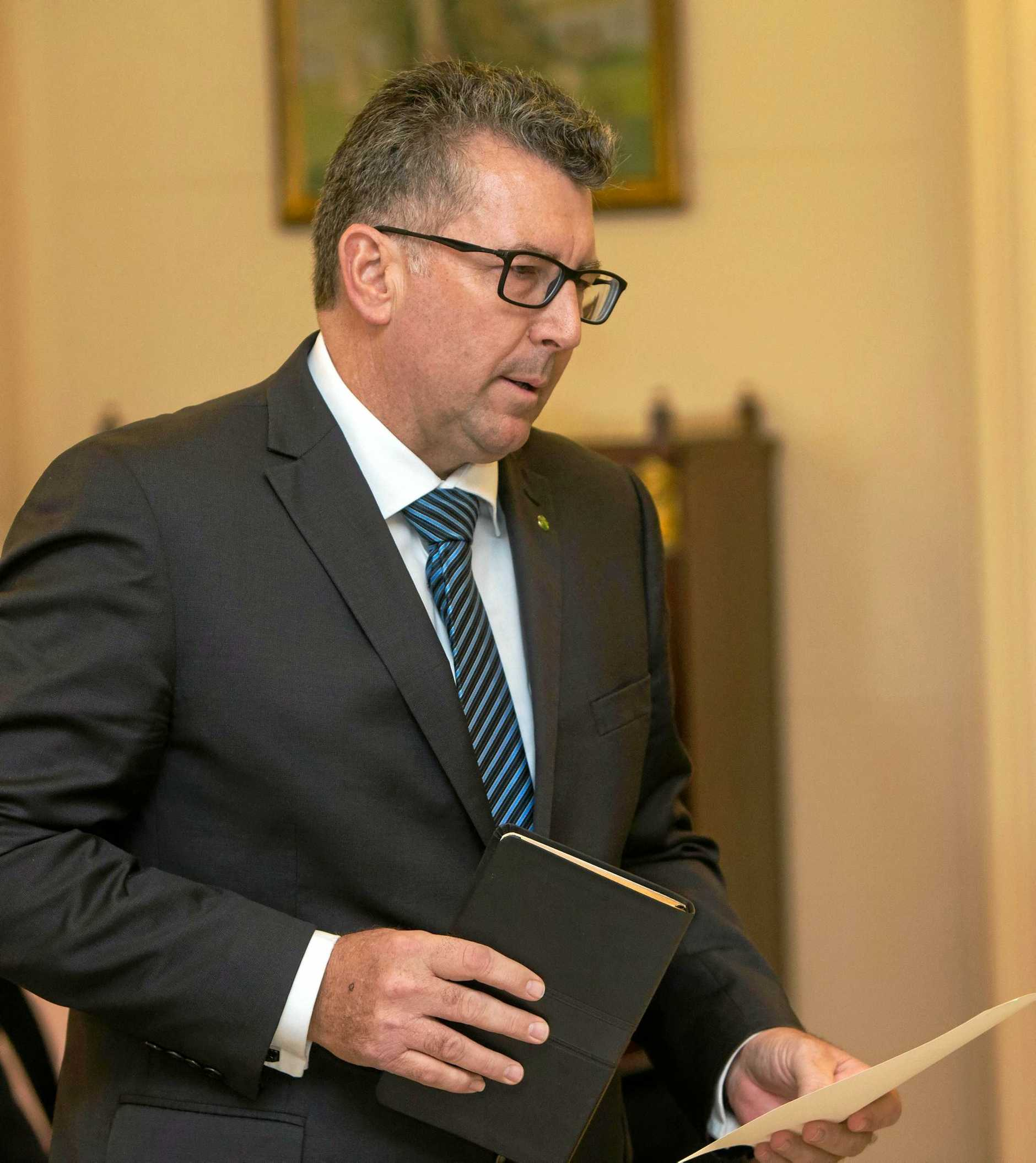Assistant Minister for Trade, Tourism and Investment and Member for Hinkler Keith Pitt.