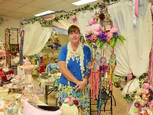 GYMPIE'S OWN ALICE: Maxene Grewar has created her own craft Wonderland in the James Nash arcade.
