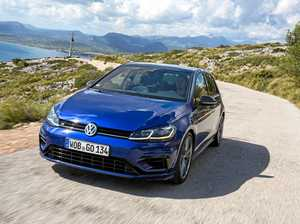 WEAPON: The even faster 2017 Volkswagen Golf R 7.5 version.