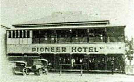 The Mirani Hotel was built as Wesche's Boarding House before becoming the Pioneer Hotel.